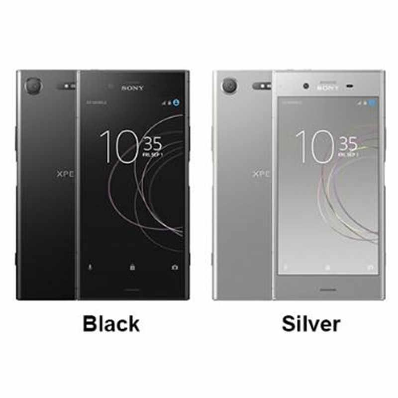 """Débloqué d'origine Sony Xperia XZ1 G8341 4G RAM 64G ROM 5.2 """"Octa Core 19MP 2700 mAh Sim unique Android LTE téléphone Mobile"""