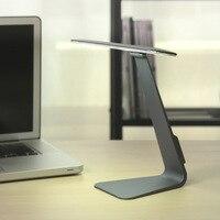 Ultrathin 200LM LED Desk Table Light Eye Protection 3 Mode Dimming Reading Lamp USB Rechargable Lights