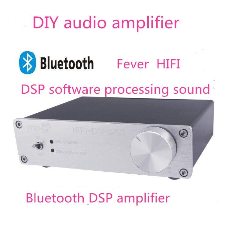 Dc16v W Channel Fever Hifi Mini Dsp Amplifier Bluetooth Amplifier Amplifier The Desktop Digital Amplifier In Amplifier From Consumer