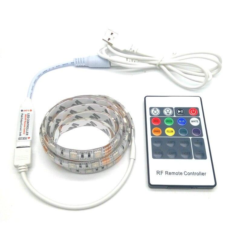 USB LED traka 5050 RGB 5V IP20 / IP65 vodootporna traka TV Pozadinsko - LED Rasvjeta