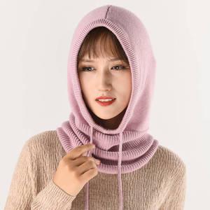 Image 3 - Bonnet en laine tricoté pour femmes