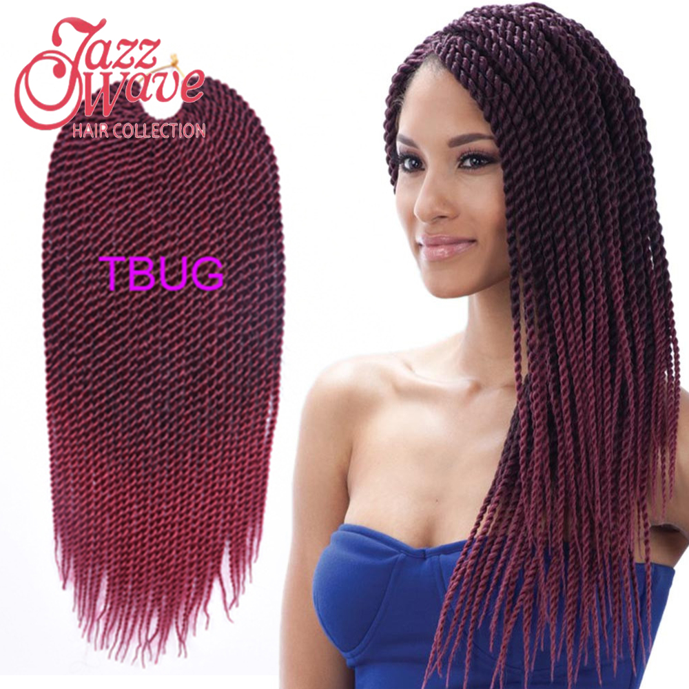 Crochet Braids Expression Multi : 100g/pc Ombre Kanekalon Braiding Hair Two Tone Kanekalon Jumbo Braid ...
