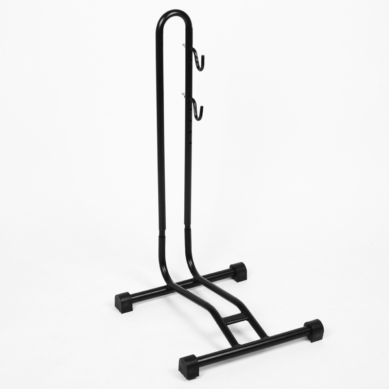 Insert parking frame Steel L-type Cycling Bicycle Rack Storage Bike Display Stand Wheel Hub Kickstand Repair Rack Parking Holder mountain bike repair stand kickstand wings kickstand road bicycle aluminum alloy rack bike repair tool accessories parking