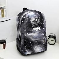 Kpop Stars Bag Boys And Girls Backpack Backpack Backpack