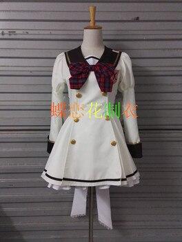Battle Girl High School Kanon Kougami Kanon Shiho Kunieda Shiho Lolita Dress Cosplay Costume F008