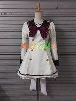 Schlacht Mädchen der High School Kanon Kougami Kanon Shiho Kunieda Shiho Lolita Kleid Cosplay Kostüm F008