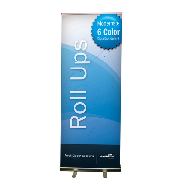 Exhibition Stand Roll Up : Cmaluminum retractable roll up display banner stand
