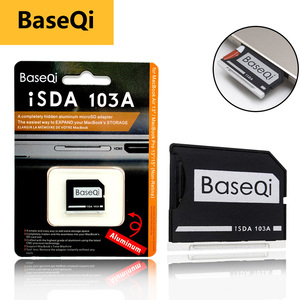 """Image 1 - BaseQi Micro SD Adapter pcmcia card for MacBook Air 13"""" memory stick pro duo adapter compact flash adapter card reader sd card"""