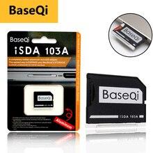 "BaseQi Mikro SD Adaptörü pcmcia kart için MacBook Hava 13 ""memory stick pro duo adaptörü compact flash adaptör kart okuyucu sd kart"