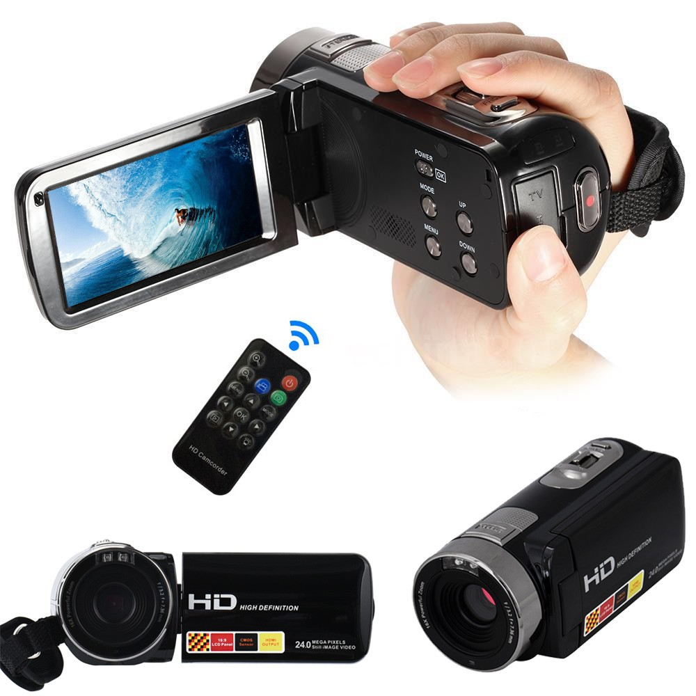24MP LCD Touch Screen Digital Video Camera Camcorder DV 1080P Full HD H2X3 цена
