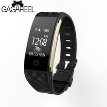 GAGAFEEL Women's Men's Smart Watch Herat Rate Monitor For Android 4.3 iOS 7.0 Pedometer IP67 Waterproof Smartwatch