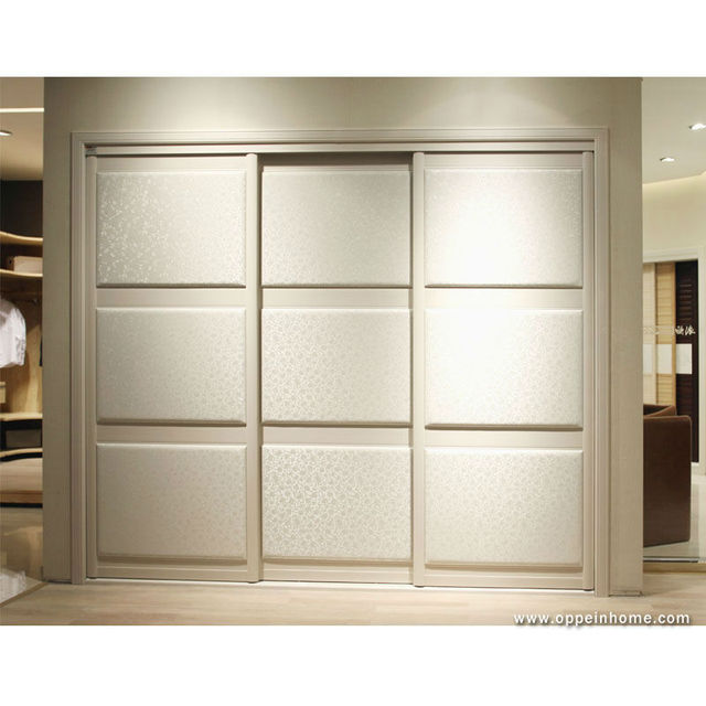 Bedroom Furniture Modern Wardrobe With 3 Sliding Doors Design From
