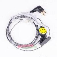 עבור baofeng Talkie Walkie אודיו מתאם + Headset לקבלת Baofeng BF-9700 BF-A58 BF-UV9R N9 מתאם עבור M ממשק 2Pin אוזניות אביזרים פורט (5)