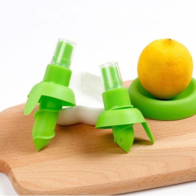 1Pcs/set Lemon Orange Sprayer Fruit Juice Citrus Spray Kitchen Fresh Fruit Juice Squeeze Tools Protable Kitchen Cooking Tool New 2