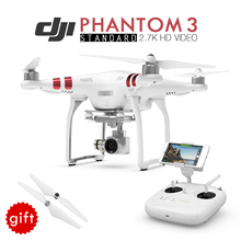 Hot.DJI Phantom 3 Standard FPV RC Quadcopter Drone with 2.7K HD Camera Dron Build-in GPS FPV Real-time Photography RC Helicopter