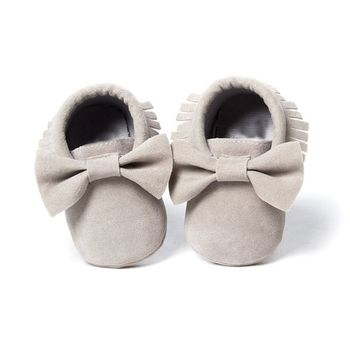 Baby Girls Shoes First Walkers Newborn Baby Moccasins Soft Boy Girl Fringe Soft Soled Non-slip Footwear  Shoes 1