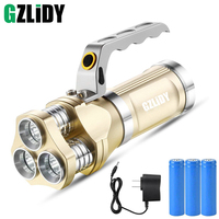 Powerful Portable LED Flashlight 3 CREE Q5 chip 5 Modes Torch Powerful Camping Hunting Miner's Lamp Lanteran Torche Flashlight