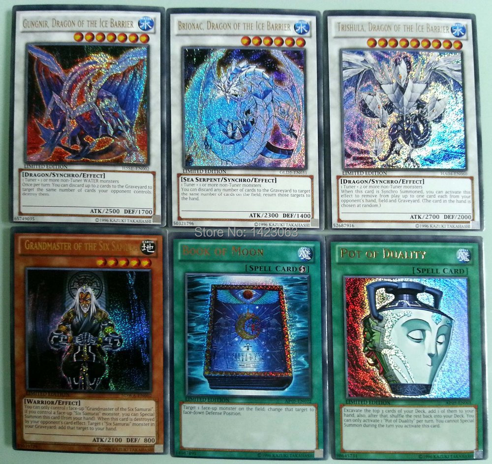 80 collector yugioh secret rare cards collection english version