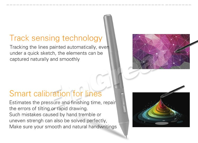 Digital Rechargeable Pen (+10 Pen Tips as Gift ) for Parblo A610 Graphic Tablet Drawing Pad Painting Board P0025136 1