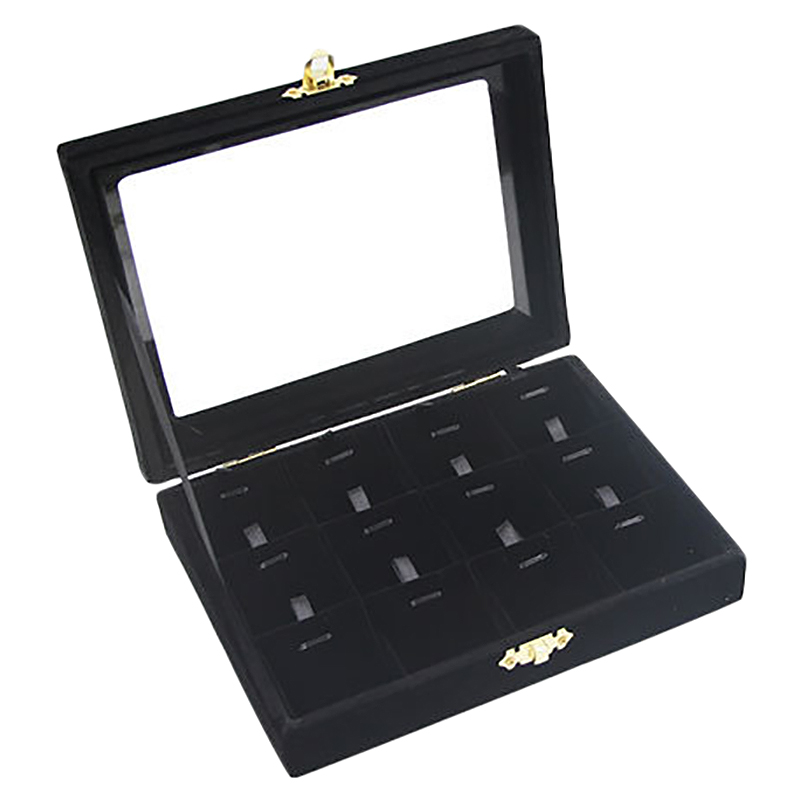 Fashion Accessories Box Wedding Birthday Gifts Pendant Necklace Storage Velvet Jewelry Display Boxes Case(China)