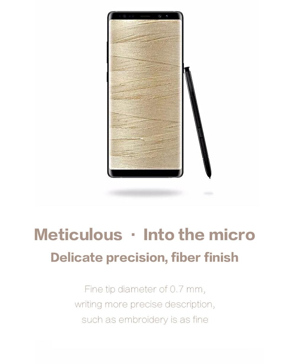4Samsung Galaxy Note8 Pen Stylus Active S Pen Stylus Pen Touch Screen Pen Note 8 Waterproof Call Phone S-Pen 100% Original