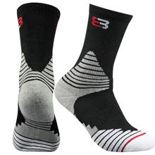 3 Pairs Mens Sport Socks Crew Skating Basketball Ankle Sock 7-12 Cycling Bowling Camping Hiking Colors