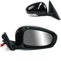 כוח מחומם & מתכוונן זכוכית LED מנורת L/RH צד מראה עבור טויוטה רייז 2010 2012-במראות וכיסויים מתוך רכבים ואופנועים באתר