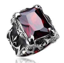 Retro Retro Inlaid Ru by Ring Tide Male Jewelry Titanium Steel Ring Men's Ring TX 430 printio gl by kkaravaev ru