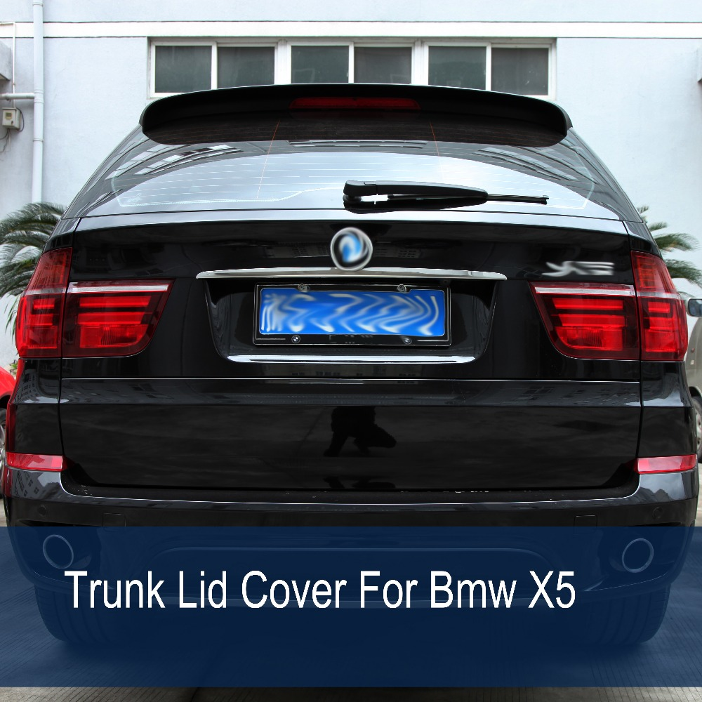 1pc High quality stainless steel trunk lid cover trim for 2008 2009 2010 2011 2012 2013 BMW X5 X6 E70 E71 car styling car rear trunk security shield shade cargo cover for nissan qashqai 2008 2009 2010 2011 2012 2013 black beige