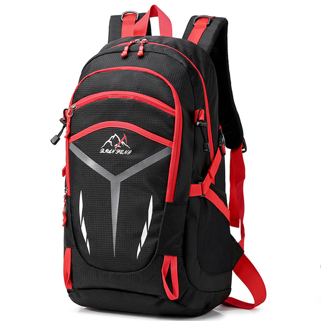 2019 men waterproof backpack unisex travel pack sports bag pack Outdoor Mountaineering Hiking Climbing Camping backpack for male 1