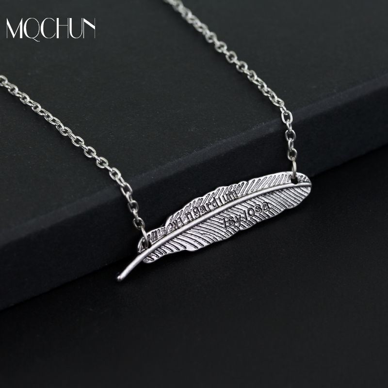 MQCHUN Movie Anime Harry Magic Spell Feather Necklace Cosplay Toy Cartoon Potters Party Show Necklace Jouet Kids Birthday Gift
