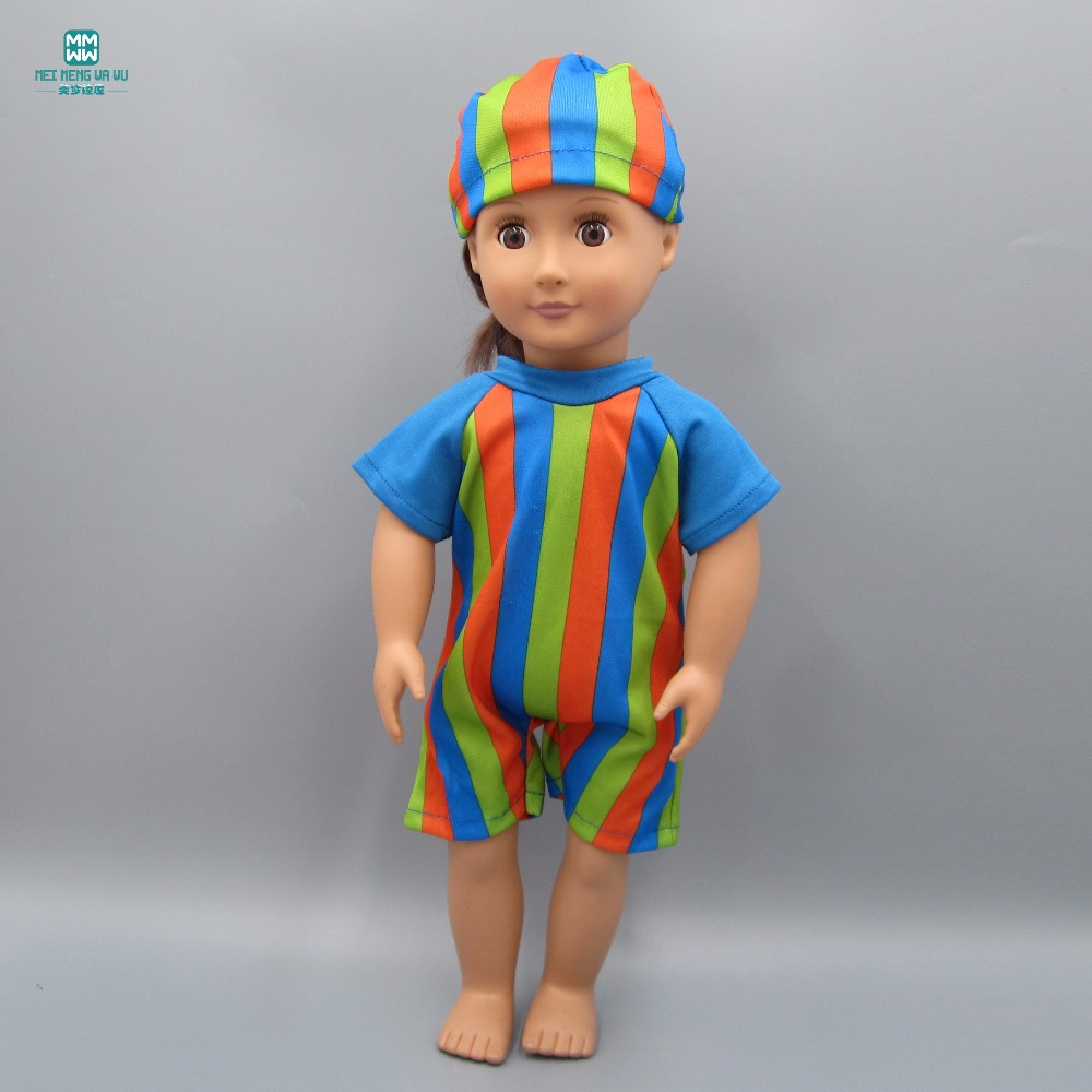 Fashion A variety of stylish swimwear fits 45cm American girl doll Accessories ...
