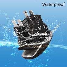 Car Boat Truck Light Toggle Switch 5pin Waterproof 12V 20A Bar Carling Style Blue Rocker SPST ON-OFF Switch New Arrival