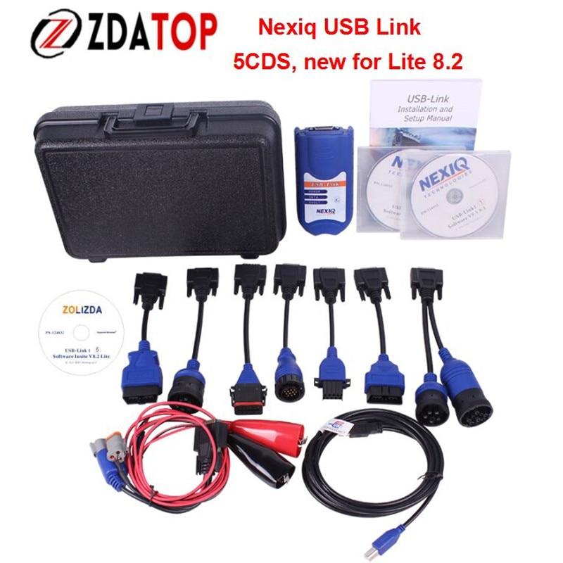 Цена за Zolizda NEXIQ USB Link Авто Heavy Duty Truck Сканер NEXIQ лучше, чем DPA5 хорошее качество NEXIQ USB 125032 USB Link DHL бесплатная доставка