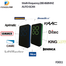Auto-Scan 280mhz - 868mhz Multi Frequency rolling code and fixed code remote control duplicator face to face copy