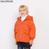 SAILEROAD 2 7T Winter Boy Down Jacket Top Quality Kids Russian Winter 30 Degree Coats Warm Girl Down Coat Casaco Inverno Menina