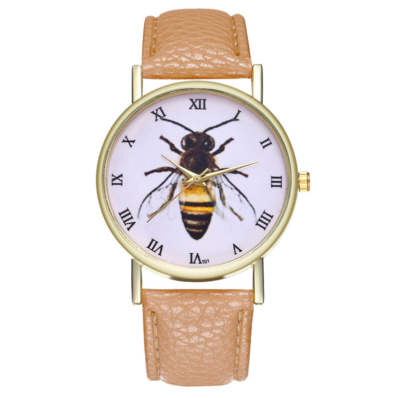 Horloge Dames  Best Sellers Minimalism Creative Trend Retro Watch Bees Insects Women's Watches Clock Cuckoo Kol Saatie@50