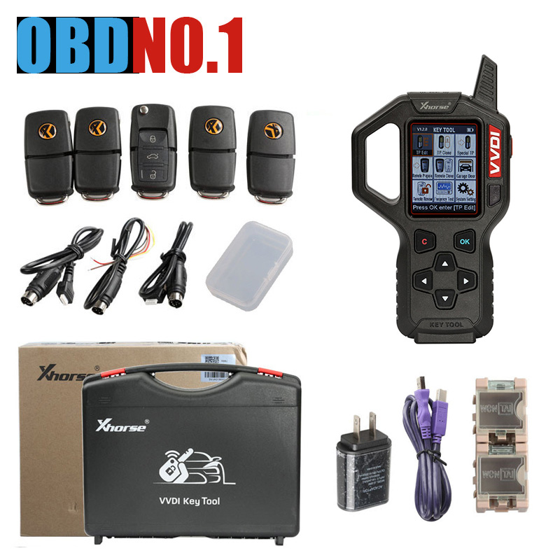 New Original Xhorse VVDI Key Tool Remote Key Programmer Newest V2 4 1 VVDI Key Tool
