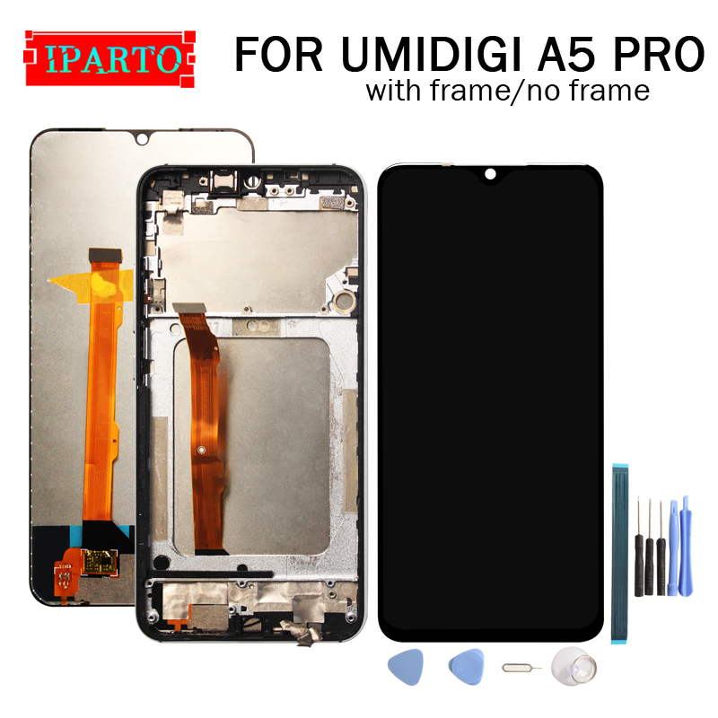6.3 inch UMIDIGI A5 PRO LCD Display+Touch Screen Digitizer Assembly 100% Original New LCD+Touch Digitizer for A5 PRO+Tools-in Mobile Phone LCD Screens from Cellphones & Telecommunications
