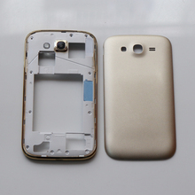230df65185c Middle Plate Chassis Frame + Back Battery Housing Cover For Samsung Galaxy  Grand Duos GT-