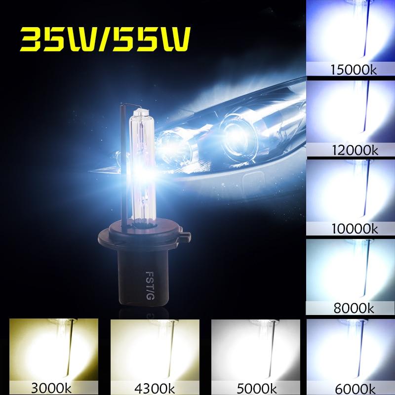 2pcs Hid Xenon H1 Bulb 35w 55w 3000k 4300k 5000k 6000k