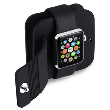 VicTsing Black TPU Anti Scratch Premium Charging Dock Stand Station Holde For Apple Smart Watches 38mm