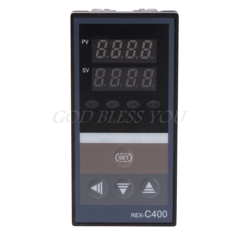 PID Digital Temperature Controller RKC REX-C400 Universal Input Relay SSR Output for Automatic Packing Machine Thermostat