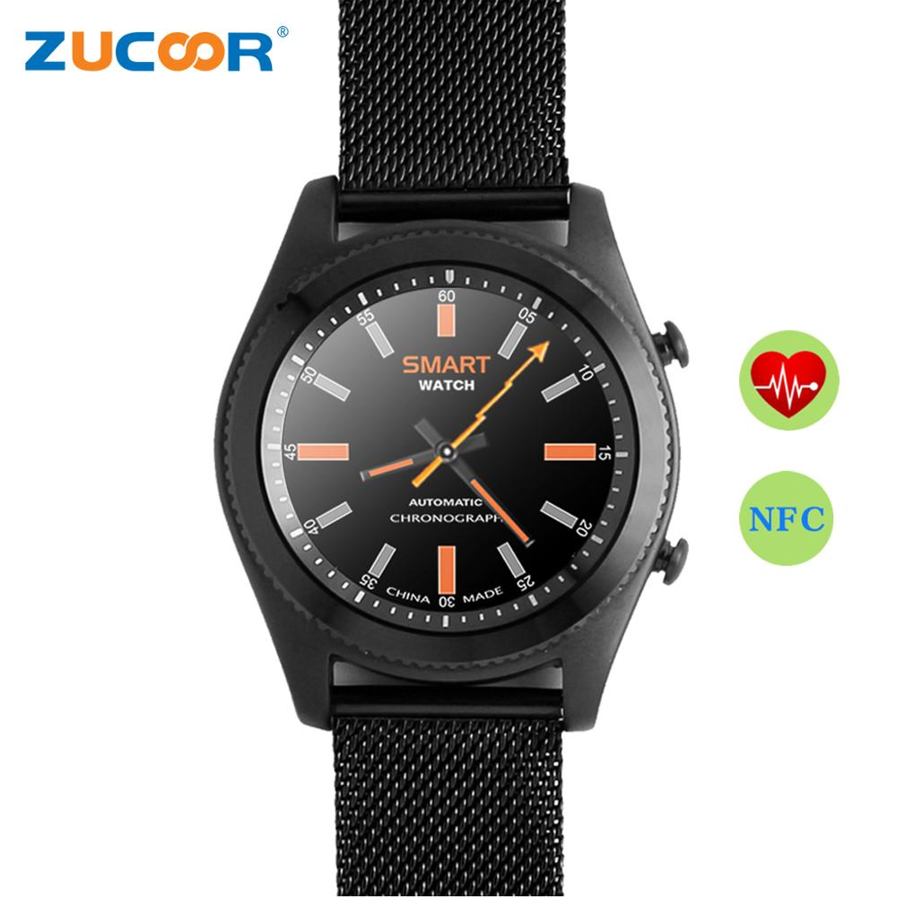 Smart Wrist Watch NFC Heart Rate Monitor NO.1 S9 Bluetooth Wristwatch Amti-lost Waterproof Remote Camera For iOS Android Phone gt08 1 54 mtk6260a nfc bluetooth watch hd tft smart wrist strap