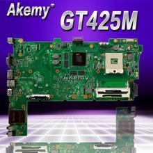Akemy для Asus N73JN N73JQ N73JF материнская плата 60-NZXMB1100-E18 основная плата 8 памяти Rev2.0 материнская плата 100% Протестировано