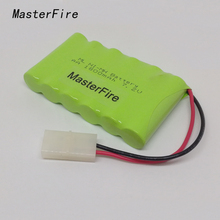 MasterFire 2PACK/LOT Brand New 7.2V AA 1800mAh Ni-Mh Battery Rechargeable Batteries Pack Free shipping