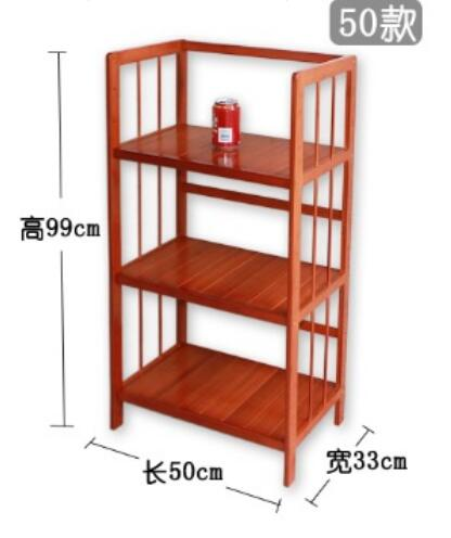99*50*33cm Children Bamboo Wood Bookcase Three-Layer Book Storage Shelf Living Room Storage Rack children s bookcase shelf bookcase cartoon toys household plastic toy storage rack storage rack simple combination racks