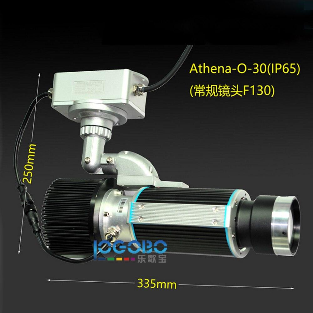 New Logo waterproof 30W LED gobo projector-5