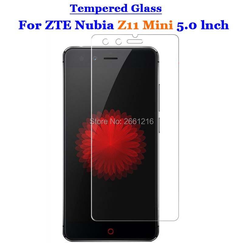 a413cee08cc4a For Nubia Z11 Mini Tempered Glass 9H 2.5D Premium Screen Protector Film For ZTE  Nubia Z11 Mini / Z11mini 5.0