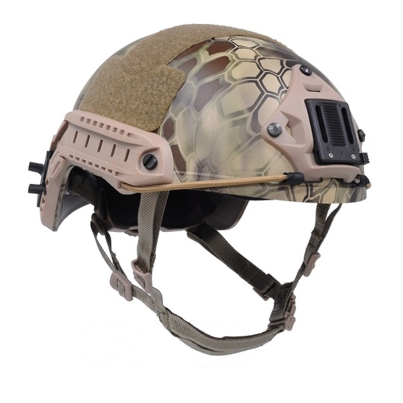 Sports Helmets Tactical US Army Helmet FAST Ballistic Helmet ( Highlander ) for Hunting and Airsoft Protective Free Shipping 2015 new kryptek typhon pilot fast helmet airsoft mh adjustable abs helmet ph0601 typhon